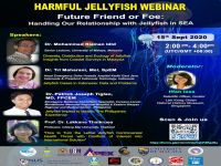 HARMFUL JELLYFISH WEBINAR - Future Friend or Foe: Handling Our Relationship with Jellyfish in SEA